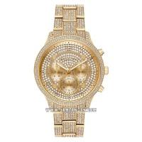 Michael Kors MK6634 Chronograph Gold Swarovski Dial Gold Swarovski Sta