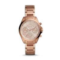 Modern Courier Midsize Chronograph Rose Gold-Tone Stainless Steel Watc