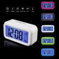 Jam Meja Pintar Weker Digital Desktop Smart Clock Dekorasi Interior ok