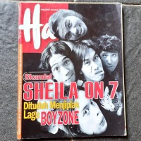 Majalah Hai Sheila on 7 Oktober 1999