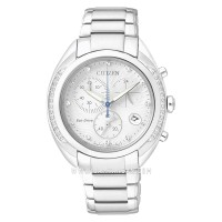 Citizen FB1381-54A Chronograph Eco-Drive Silver Dial Stainless Steel