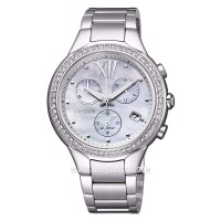 Citizen FB1320-59A Chronograph Eco-Drive Mother of Pearl Dial