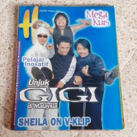 Majalah Hai Cover Gigi Desember 1999