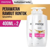Pantene Shampoo Hair Fall Control 400ml Paket Isi 2