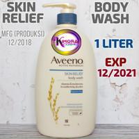 Aveeno Skin Relief Body Wash 1000ml 1Liter