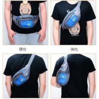 Tas selempang pria Tas sling back pack waist bag pinggang