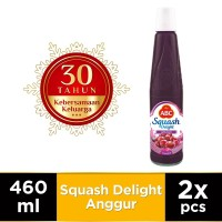 ABC Sirup Squash Delight Anggur 460 ml - Twin Pack