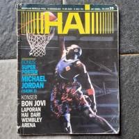 Majalah Hai Cover Michael Jordan Juni-Juli 1993