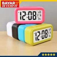 Jam Meja Pintar Digital Desktop Smart Clock Jam Waker Smart Clock