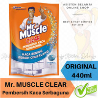 MR MUSCLE Clear Pembersih Kaca Serbaguna Original 440ml Glass Cleaner