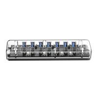 Orico USB HUB F7U-U3 7 Port USB 3.0 Transparant