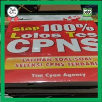 Best Seller Buku Judul Siap 100 persen Lulus Tes CPNS Terlaris