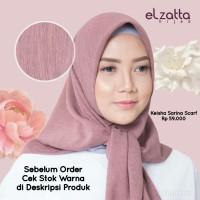 Hijab Kerudung Segi Empat KEISHA SARINA Scarf ELZATTA Original