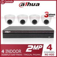 CCTV DAHUA 4 KAMERA 2MP (4 INDOOR)