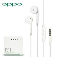 Headset handsfree Earphone OPPO R11 ORIGINAL 99 good Quality