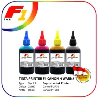 F1 Ink for Canon CMYK 100ml