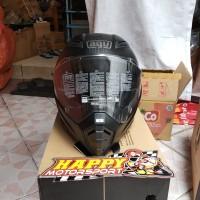 New Arrival!!! Helm AGV AX-8 Naked Carbon Matte black Size XXXL