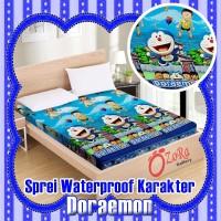 Ozora Sprei Waterproof Gratis Tas Sepre Anti Air Seprei Ompol 180x200