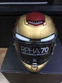 Helm Hjc Rpha 70 Iron man