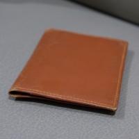 Card Wallet Dompet Kartu, Kulit Asli Brown Original Italy