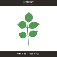 Daun Bunga | Paper Flower Backdrop Leaf Jasmine - 28