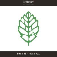 Daun Bunga | Paper Flower Backdrop Leaf Jasmine - 40
