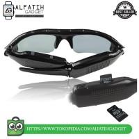 Kacamata Kamera Spy Cam Kacamata Hitam HD Quality G6 bagus