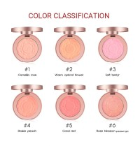 O.TWO.O 9120 Blush Natural Baked Face Mineral Blusher Palette With