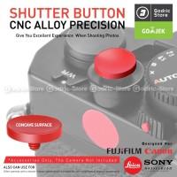 Red Soft Shutter Tombol Shutter Kamera Release Button Concave Cekung