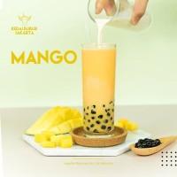 Bubuk Minuman Bubble Powder Drink Mangga / Mango ORIGINAL Javaland 1kg
