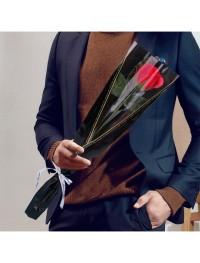 Buket Valentine Day 1 pc Sabun Bentuk Bunga Mawar - 5425
