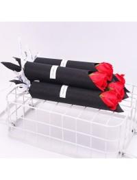 Hadiah Valentine Sabun Bentuk Bunga Mawar 1 pc Murah 5426
