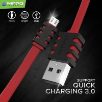 Hippo Caby 3 Micro USB 100cm - Kabel Charger Dan Data