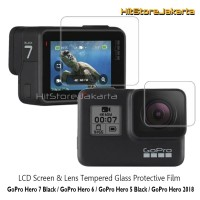 GoPro Hero 5 Tempered Glass Lens & LCD Protector Anti Gores GoPro 5