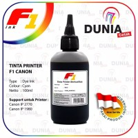 TINTA PRINTER F1 INK CANON IP 2770 1980 BLACK - 100ML