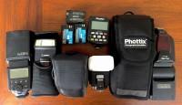 Canon Flash Paket Dengan 4 Unit speedlight + wireless trigger