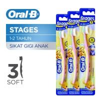 Oral B Sikat Gigi Stages 1 Paket Isi 3