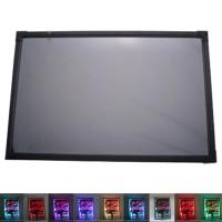 LED Writing Board - Papan tulis LED -Papan Iklan -1 Set 60x80cm