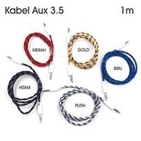 Kabel Audio Aux 3.5 1 meter