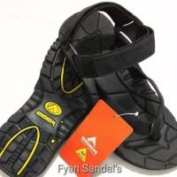 Sandal Gunung Eiger / Sendal Gunung Jepit Hitam Polos