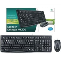 FLASH SALE!! Logitech Desktop MK120 Mouse and Keyboard Combo