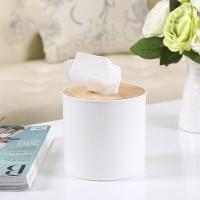 TT012 Tempat Tissue Roll Kayu Tissue Gulung Simple Minimalis Oak Wood