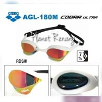 Kacamata Renang ARENA COBRA ULTRA MIRROR AGL-180M White BK
