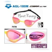 Kacamata Renang ARENA COBRA ULTRA MIRROR AGL-180M Pink
