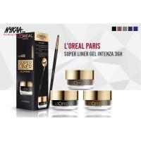 ORIGINAL Loreal Paris Eyeliner Gel Intenza Super Liner Black