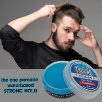 The one pomade waterbased 60gr free sisir