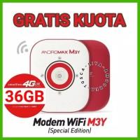 MiFi Router Modem WiFi 4G Smartfren Andromax M3Y SE Plus Voucher Data