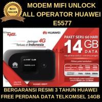 Mifi Modem Wifi 4G Huawei E5577 Unlock All Operator II BEST SELLER II