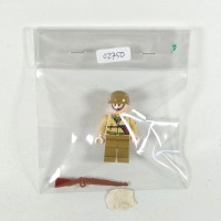 BRICK-IN-BAG 02750 CIVIL WORLD WAR SOLDIER WITH RIFLE LEGO KW ARMY