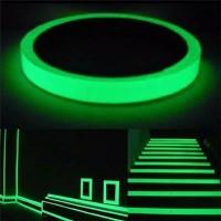 Glow In The Dark Tape Selotip Lakban Fosfor Nyala Dalam Gelap Isolasi
